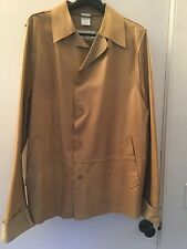 :, Dolce&Gabbana, leather jacket in Blonde,L 52(italian) Solid†