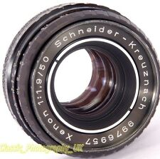 Schneider-Kreuznach XENON 1:1.9/50mm SHARP Prime Lens PENTAX M42 + DIGITAL fit