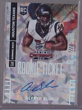2014 Contenders Rookie Ticket Cracked Ice Alfred Blue Auto Rc Serial # To 22