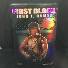 Hot Toys First Blood John J. Rambo MMS21 Action Figure 1/6 Scale BRAND NEW RARE