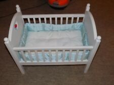RETIRED PLEASANT CO. AMERICAN GIRL BITTY BABY HEART DOLL BED CRIB BEDDING SET