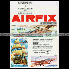 AIRFIX 'TIRPITZ, GD F 111 A & ROYAL SOVEREIGN' 1968 - Pub / Publicité / Ad #A37