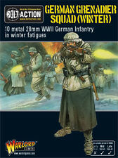 Warlord Games Bolt Action BNIB German Grenadiers in Winter Clothing WGB-WM-07