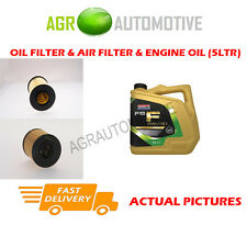 DIESEL OIL AIR FILTER KIT + FS F 5W30 OIL FOR FORD FOCUS 2.0 110 BHP 2008-11