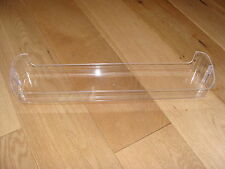 GENUINE SMEG / HYGENA FRIDGE / FREEZER CLEAR PLASTIC DOOR BOTTLE SHELF / TRAY
