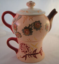 TRACY PORTER Tea For One LORELEI Teapot & Cup BRAND NEW