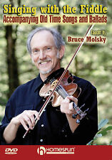 SINGING WITH THE FIDDLE - VIOLIN BRUCE MOLSKY *NEW* DVD