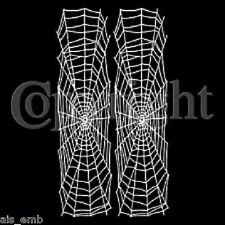 Spider Web Sleeve HEAT PRESS TRANSFER T Shirt Sweatshirt Fabric iron on 031e