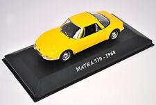 Voiture modèle réduit collection 1/43ème Matra 530 de 1968