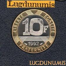 BE - 10 Francs Génie 1992 FDC 4 938 Exemplaires Provenant du coffret BE