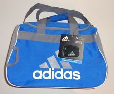 adidas Diablo Small Duffel  Gym Bag Royal Blue - Gray