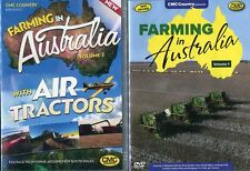 Farming in Australia Vol. 1 & 2 (with Air Tractors) CMC Farming Double Pack DVD