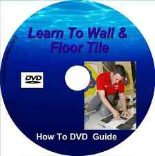 Learn How to Tile – Floors & Walls - DVD Video - DIY guide