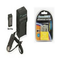 Battery + Charger for Canon HFR28 HFR26 HF R27 HFR27 HF R205 HFR205