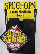 DOUBLE MAG POUCH UTILITY M-9 SPEC OPS MILITARY ISSUE MADE IN USA MZ0502A