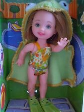 """RARE ! 2001 MATTEL KELLY CLUB """" POOL PARTY LIANA """" KELLY DOLL IN FROG COSTUME"""