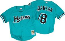 Andre Dawson Florida Marlins 1995 Mitchell Ness Batting Practice Jersey 3XL