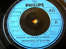 "BROWNSVILLE STATION - SMOKIN' IN THE BOYS ROOM  7"" VINYL"