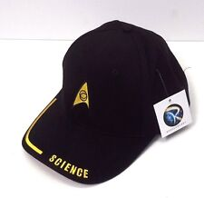 Star Trek Science Logo DELUXE Embroidered Fabric Cap/Hat- Adjustable (HAT002)