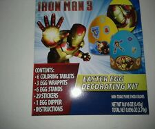 IRON-MAN 3 EASTER EGG DECORATING KIT