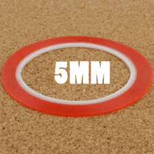 5mm Red Wide Double Sided Layer Adhesive Sticky Tape Sticker for Mobile