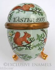 Bilston & Battersea Halcyon Days Enamels Easter Egg 1975