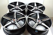 16 Drift Wheels Rims Tiburon Elantra Milan Eclipse Outlander iM Forte xB 5x114.3