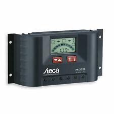 Steca 20A PWM solar controller for caravans, motorhomes, RVs, boats and yachts