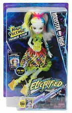 Monster High Electrified Frankie Stein Doll High Voltage
