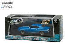 Greenlight 1969 Chevy Yenko Camaro 2 Fast 2 Furious (2003) 1/43 Scale