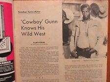 1974 Philadelphia Sun. Bulletin TV Time(MOSES  GUNN/LITTLE HOUSE ON THE PRAIRIE)