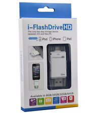 32GB USB HD i-Flash Drive U Disk Memory Stick For iOS MAC PC iphone ipad
