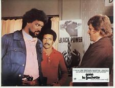 BERNIE CASEY JIM BROWN  BLACK  GUNN 1972 VINTAGE LOBBY CARD #2
