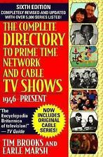 Complete Directory to Prime Time Network and Cable TV Shows, Sixth Edition (6th