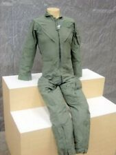 NEW ARMY NOMEX WOMENS CWU-27/P SAGE FLIGHT FLYERS SUIT COVERALLS 32 WR Jumpsuit