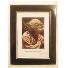 "Yoda ~ Limited Edition ""Do or do not....there is no try"" By Patrick J. Killian"
