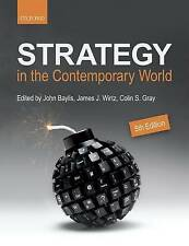 -Strategy In The Contemporary World  BOOK NEW
