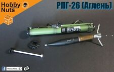 Hobby Nuts 1/6 RPG26 Rocket Launcher Bazooka Weapon Model F 12'' Action Figure