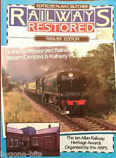 Railways Restored Book 1988/89 Edition Trains Guide to Steam Centres & Museums