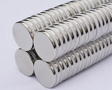 "10 pcs 25mm (1"") X 3mm DISK MAGNETS N35 Neodymium rare Earth - US SELLER"