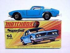 Matchbox Lesney No.14d Iso Grifo In Type 'H2' Without 'NEW' Box (VVNM MODEL!!)