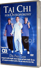 Tai Chi For Osteoporosis Dr Paul Lam Exercise Fitness Health DVD NEW UNSEALED