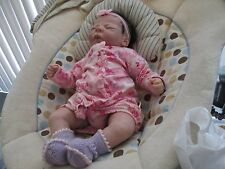 "BOO BOO Baby by ELISA MARX ETHNIC NEWBORN BABY GIRL ""Cutie""~PRELOVED"
