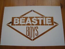BEASTIE BOYS - LICENSED TO ILL 80's PROMO GRAFFITI STENCIL - RARE!!