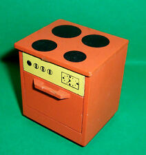 VINTAGE 1970's LUNDBY DOLLS HOUSE EARLY KITCHEN COOKER