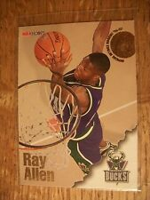 RAY ALLEN 1996-97 Hoops Rookie #279 RC Bucks