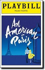 Color Playbill An American in Paris  Robert Fairchild  Leanne Cope Max von Essen