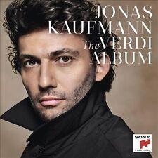The Verdi Album 2013 by Jonas Kaufmann; Giuseppe Verdi; Pier Giorgio . EXLIBRARY