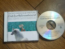Shogo Hamada - CLUB SURF & SNOWBOUND - Japan CD 1987 NEAR MINT!