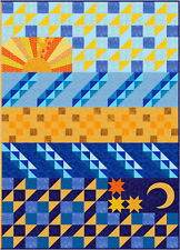 Sunnie Quilt's SHINING SEA Pattern FREE US SHIPPING